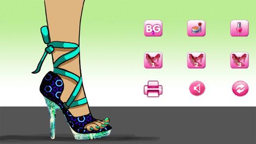 Sally的鞋设计师