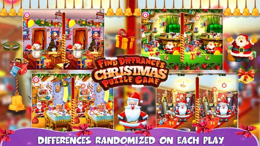 找到差异的圣诞之谜