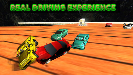 漩涡拆迁汽车3D - 的Xtreme赛车崩溃