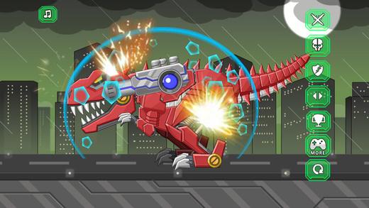 机器霸王龙 - 组装机器人大战