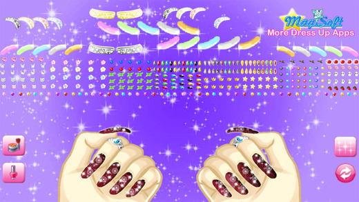 暮光明星指甲