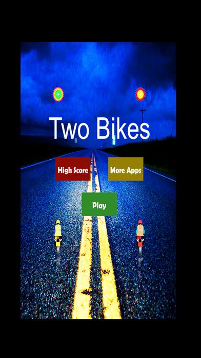 公路自行车赛车冒险双行