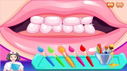美女牙齿美容
