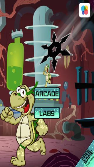 方块中的海龟逃生 - 忍者突袭混乱 免费