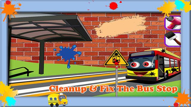 构建公共汽车站 - 小生成器构造函数游戏