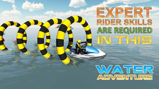 喷气滑雪模拟器 - 摩托艇驾驶和停车位模拟游戏