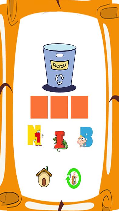 说话和拼写家庭学校教英语游戏