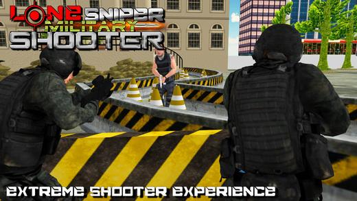 孤独的狙击手:军事射击和陆军模拟器