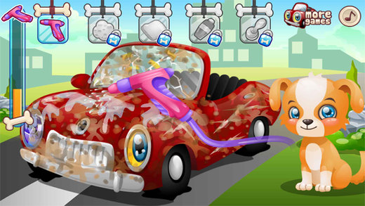 托马斯爱洗车,儿童游戏,爸爸妈妈和宝宝的游戏-EN