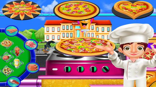 儿童比萨制造厂
