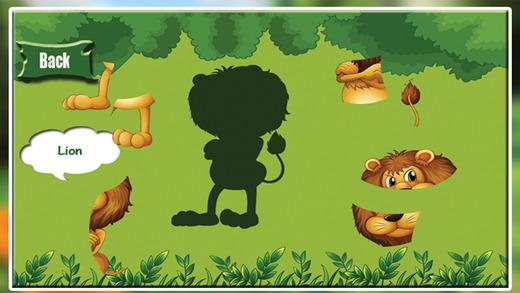 动物拼图 - 惊人的丛林益智游戏为幼儿学龄前学习