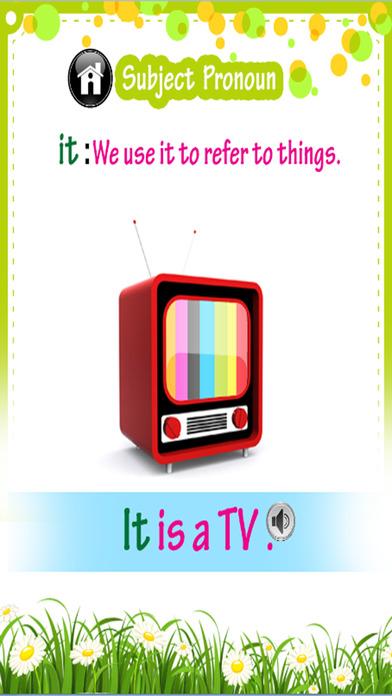 学习英语词汇 - 代词:学习教育游戏的孩子 - 免费的!