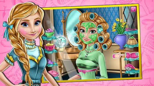 公主沙龙-安娜的水润spa 化妆 换装