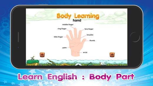 身体部分为幼儿园和小孩拼图