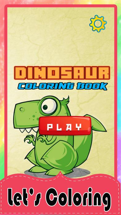 恐龙着色页小恐龙活动