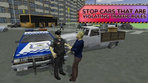 警方监狱长速度蔡斯 - 交通警察模拟器