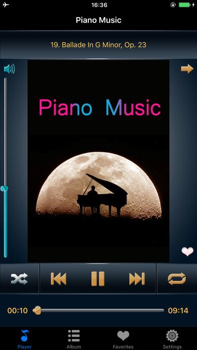 钢琴曲精选合集免费版HD 古典音乐大师作品世界名曲高清播放器
