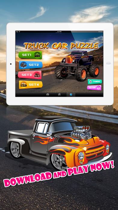 宝宝汽车, 卡车, 消防车 - 儿童拼图游戏, 益智活动, 图画