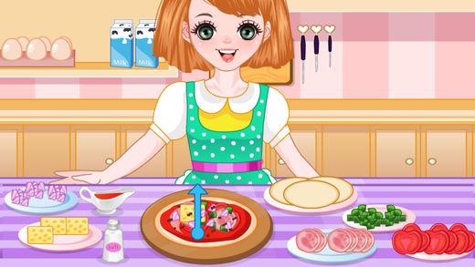 美味西饼袋--美女烹饪游戏