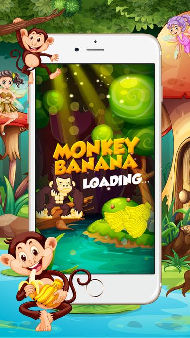 游戏国王吃香蕉丛林为孩子跑