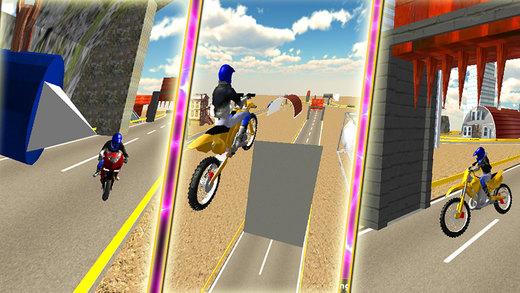 公路自行车骑手 - 摩托车赛模拟器与2016年最致命的特技