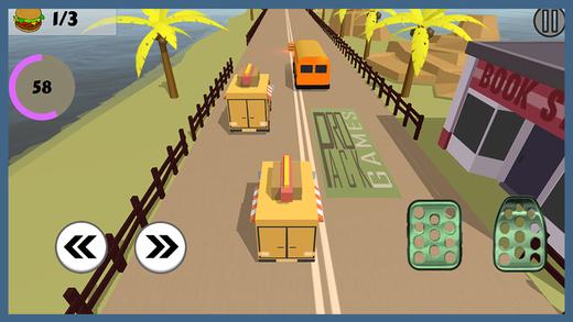 汉堡交货赛车 - 食品卡车驾驶