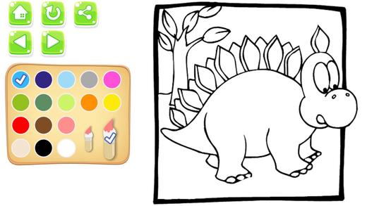 我的恐龙图画书为孩子和孩子的恐龙绘画比赛