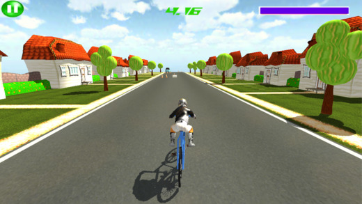 山地自行车道驾驶Sim游戏2017