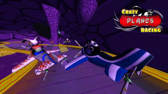 疯狂的 飞机 赛车 ( 3D 孩子 游戏/ 游戏  )