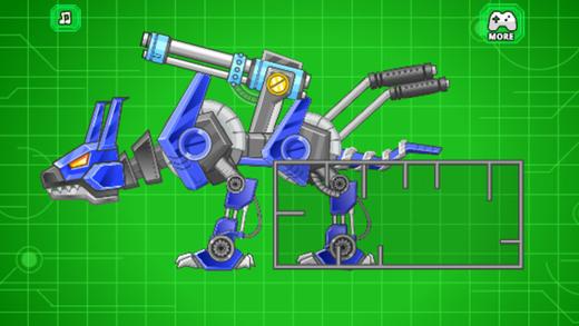组装机器人大战:机器狗