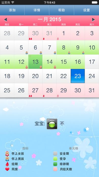 月经期助手 (男性版) - 大姨妈助手、计算周期、排卵日 - 排卵与妊娠预测、女性安全期自测
