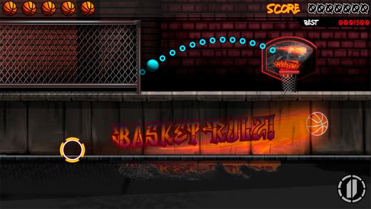 超级街机篮球击球运动挑战
