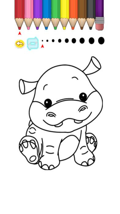 兒童圖畫書 - 可愛的卡通衣