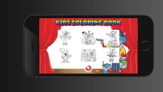 兒童圖畫書馬戲團 - 教育學習遊戲為孩子和幼兒