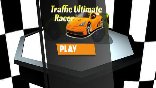 交通卡通终极赛车:将山和赛车在城市的3D游戏免费