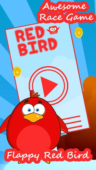 飛揚的紅鳥飛行的免費遊戲