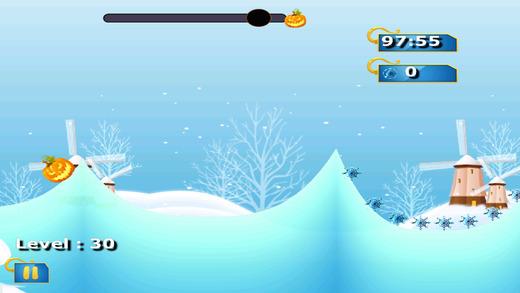 南瓜头滑雪 - 酷怪物逃脱运行 免费