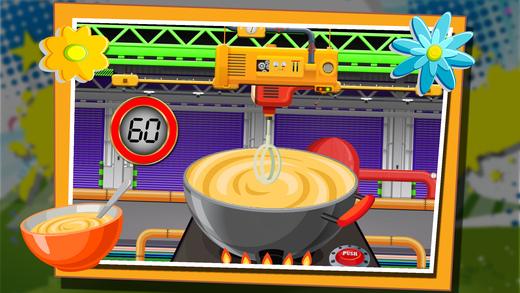 婴儿食品厂 - 美味的儿童食品制造商游戏