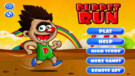 Puppet Run : 免费的孩子游戏