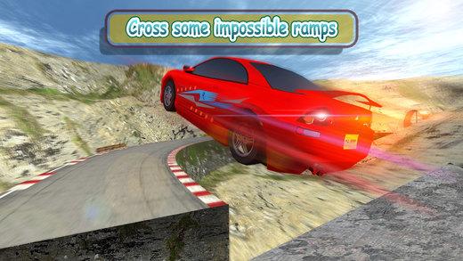 极端快速车特技驱动程序 - 驾驶模拟器