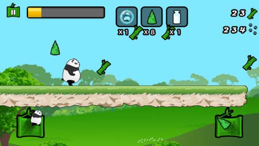 跑酷熊猫 - 熊猫跑酷游戏