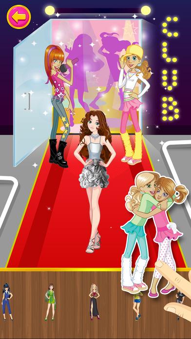 可爱的时尚明星和公主 *Pro
