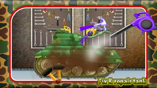 儿童军坦克维修 - 战坦克车间