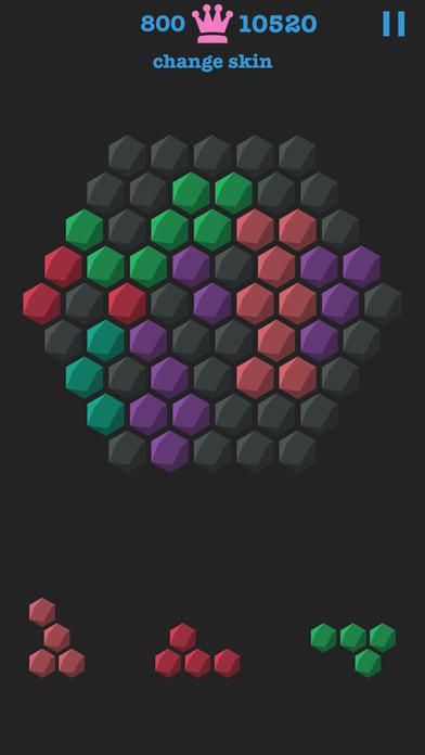 蜂巢迷阵 - 经典六边形几何消除游戏