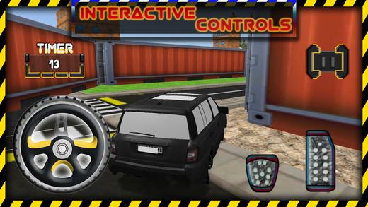 豪华停车模拟驾驶游戏
