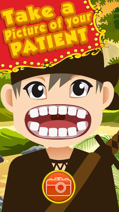 忍者乱太郎牙医刷踢和跳跃的趣味游戏专业