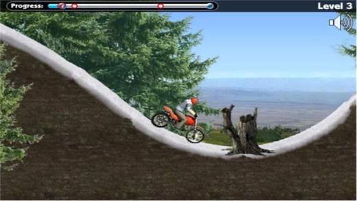 山地极限摩托车