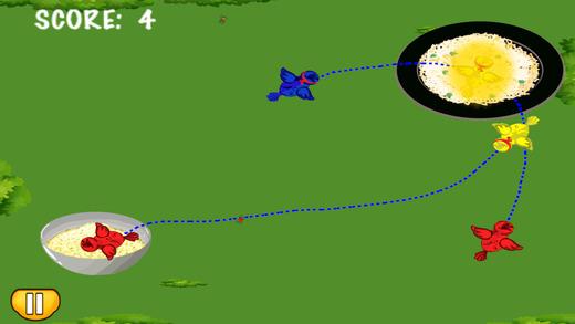 软盘饿忍者鸟 - 有趣的益智游戏喂食 免费