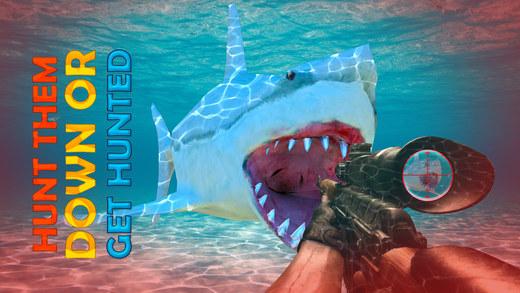水下鲨鱼猎手 - 至尊射击游戏 2016