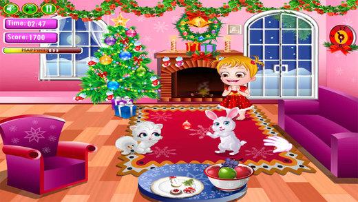 可爱宝宝过圣诞